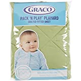Graco Quilted Pack n Play Accessories, Tarragon (Discontinued by Manufacturer)