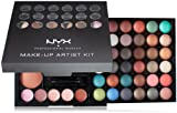 NYX Makeup Artist Kit35 Eyeshadows, 3 Bronzers,5 Blushers, 5 Lip Colors, Applicator/Mirror