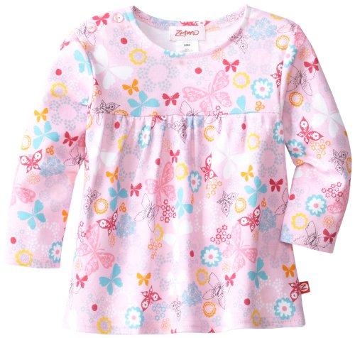 Zutano Baby-Girls Infant Summer Dream Peasant Top, Blush, 12 Months front-88027