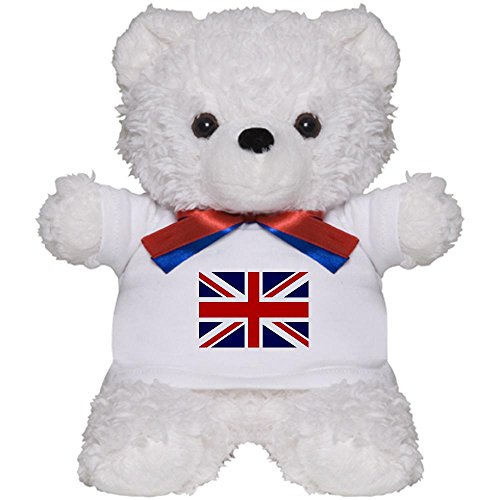 Teddy Bear White British English Flag HD