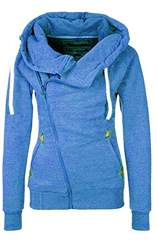 Sweat-Capuche-Femme-Manches-Longues-Matelasser-Zip-Sweat-shirt-Pull-Hoodies-Mode-AutomneHiver-Chaud