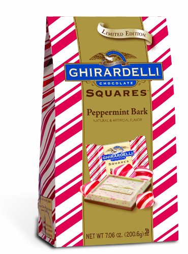 Ghirardelli Chocolate Squares, Peppermint Bark,