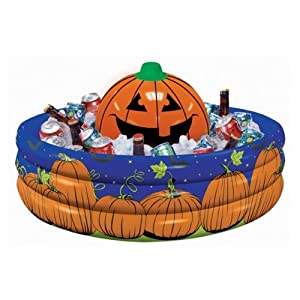 Halloween Pumpkin Inflatable Drinks Cooler from Party Bags 2 Go