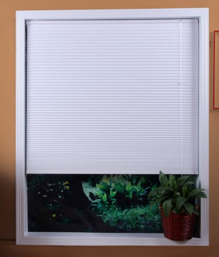 Premium 2 inch faux wood blinds, Snow White, 33 1/2 x 60 ,Free Shipping