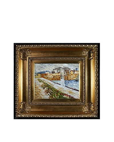 Vincent Van Gogh Langlois Bridge At Arles With Road Alongside The Canal Hand-Painted Reproduction
