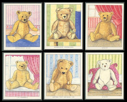 ours-en-peluche-steiff-gebruder-hermann-bing-aetna-jouet-animal-co-jk-farnell-les-cartes