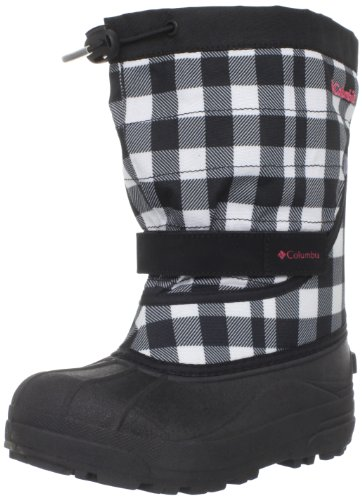 Columbia Kids Powderbug Plus II Snow Boot With Out Dry