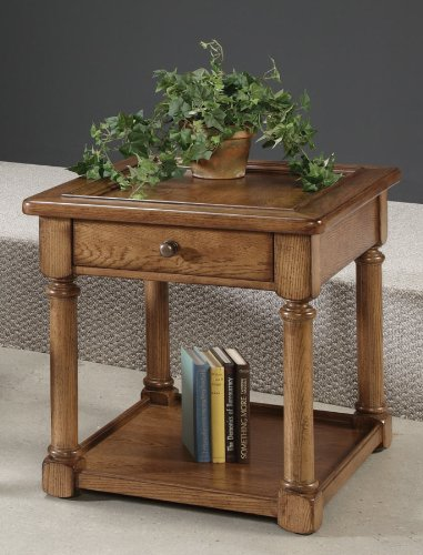 Image of American Drew - Americana Home Rectangular End Table-Kd - 114-915 (114-915)