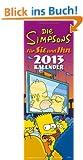 Simpsons Streifenkalender/Paarplaner 2013: Simpsons 'f�r SIE und IHN' 2013