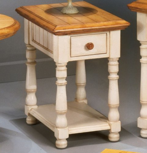 Buy Low Price Toscana Chairside End Table By Famous Brand Furniture T353 7