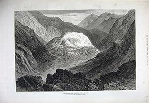 Di Arti Forte di 1879 di Guerra Afgana Montagne di Ali Musjid