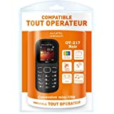 T�l�phone GSM ALCATEL ONE TOUCH 217 NOIR