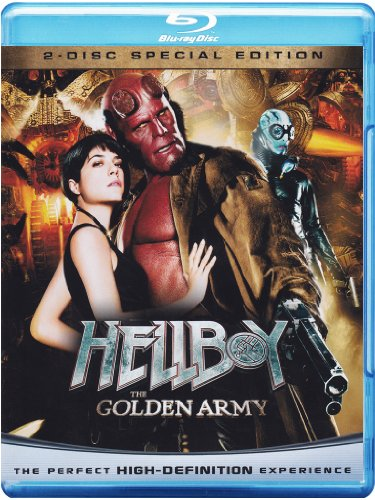 Hellboy - The golden Army(Special Edition) [Blu-ray + DVD] [IT Import]