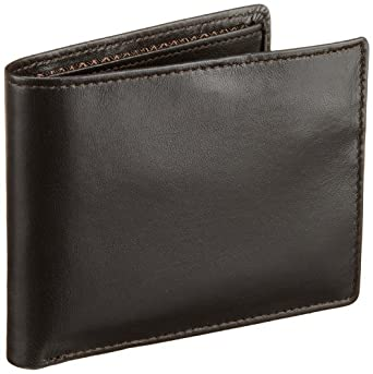 Carry Me Mens Leather Dore Passcase Billfold Wallet with multiple pockets