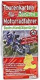 Tourenkarten für Motorradfahrer Deutschland/Alpenländer 2015/2016: 16 wiederbeschreibbare Karten für die individuelle Tourenplanung