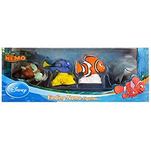 Amazon.com: Disney: Finding Nemo Figurines Boxed Set: Toys & Games