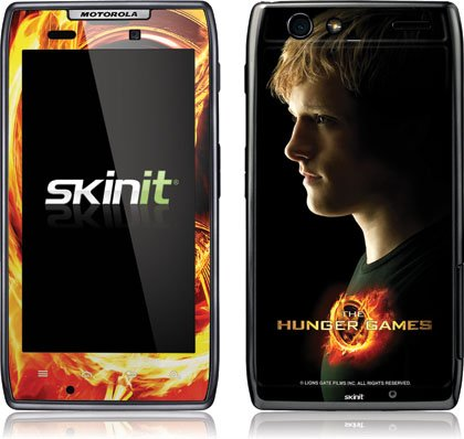 Skinit The Hunger Games -Peeta Mellark Vinyl Skin for Droid Razr Maxx by Motorola