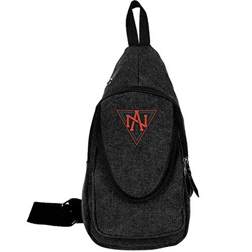 TAfunn Canvas Team North America World Cup Of Hockey Logo Chest Backpack Bag