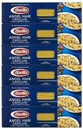 Barilla Angel Hair Capellini, No. 1, 16 Oz. (Pack of 6)