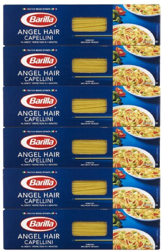 Barilla Angel Hair Capellini, No. 1, 16 Oz. (Pack Of 6)