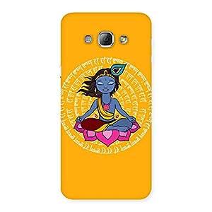 Yog Krishna Back Case Cover for Galaxy A8