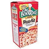 Chef Boyardee Pizza Kit, Cheese, 16.17 oz (Pack of 6)