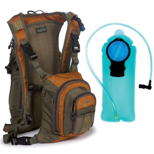 How about fishpond double haul fly fishing back chest pack for Fishing chest pack