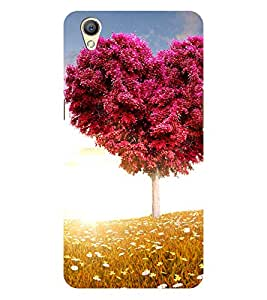 Chiraiyaa Designer Printed Premium Back Cover Case for OPPO A37 (heart boy girl friend valentine miss kiss tree nature) (Multicolor)