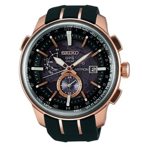 SEIKO ASTRON セイコーアストロン 国内 TiCTAC限定モデル ソーラーGPS衛星電波 腕時計 メンズ SAS032JC