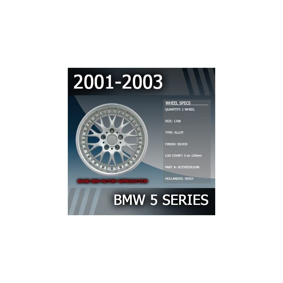 2001 2003 BMW 5 Series Factory 17 Replacement Wheel