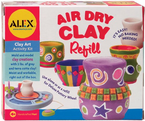 ALEX Toys Artist Studio Air Dry Clay Refill - 1