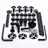 Aluminium Fairing Kit Suzuki TL1000R Black