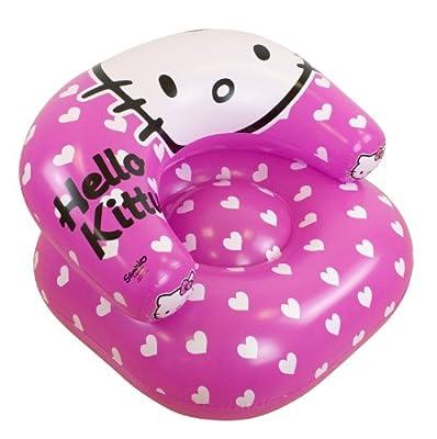 Character World Hello Kitty Aufblasbarer Sessel Herzen bei aufblasbar.de