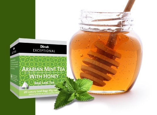dilmah-exceptionals-100-pure-ceylon-tea-arabian-mint-tea-with-honey-20-luxury-leaf-bags-each-pack-of