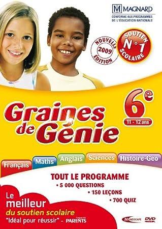 Graines de génie 6e 2009/2010