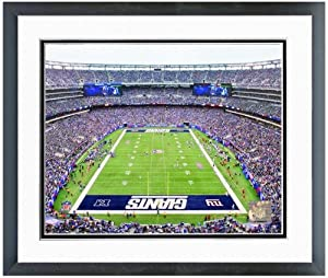 New York Giants New Meadowlands Stadium Photo 12.5 x 15.5 Framed by NFL