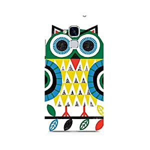 Ebby Colorful Owl Premium Printed Case For Huawei Honor 5c