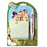Disney Fairies Tinkerbell Personalized Stationery School Set with Notebook and Matching Bling Sparkle Pen