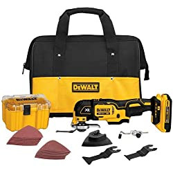 Dewalt DCS355D1 20V XR Brushless Oscillating Multi-Tool Kit + 5-Piece Accessory Kit