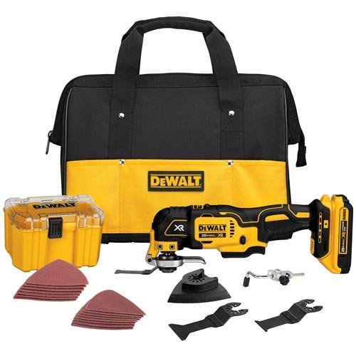 Fantastic Deal! DEWALT DCS355D1 20V XR Lithium-Ion Oscillating Multi-Tool Kit