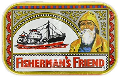 Fisherman's Friend Original Extra Strong Cough Suppressant Lozenges, 35-Count Box(Pack of 12)