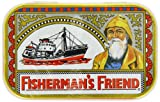 Fisherman's Friend Tin with 40g Original Extra Strong Lozenges - the Classic Sore Throat Sweet in a Reusable Tin Box