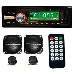 Vox 1104 Combo Car Stereo 4 Channal with FM, SD Card support, USB, AUX in and LCD Display