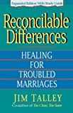 img - for Reconcilable Differences: with Study Guide by Jim A. Talley (2008-07-27) book / textbook / text book