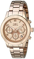Invicta Women's 19218 Angel Analog Display Japanese Quartz Rose Gold Watch