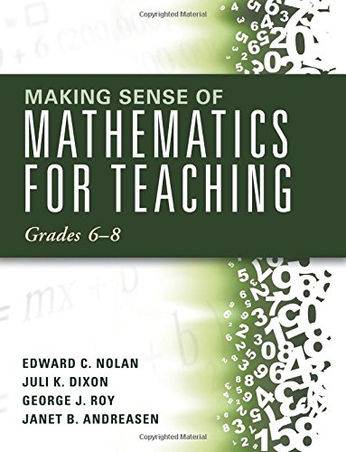 Making Sense of Mathematics for Teaching: Grades 6-8 (Unifying Topics for an Understanding of Functions, Statistics, and Probability) (Making Sense Math compare prices)