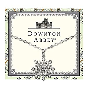 Downton Abbey Collection Silver Starburst Pendant Necklace 17594