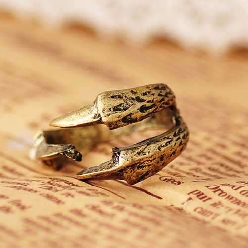 New Fashion Vintage Gothic Punk Cool Wraparound Dragon Claw 3 Talons Ring