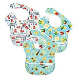 Bumkins 3 Pack Waterproof SuperBib, Boy Set Color: Boy Set, Model: BM-S3B20, Newborn & Baby Supply