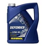 MANNOL DEFENDER Motoröl 10W-40 - 5 Liter - teilsynthetisch